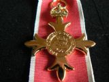 ORDER BRITISH EMPIRE MEDAL O.B.E CIVILIAN FULL SIZE REPLACEMENT COPY